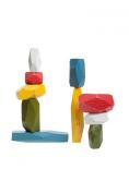Areaware Balancing Blocks, Multi-Colour