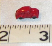 Dollhouse TOY, VOLKSWAGON BEATLE, RED