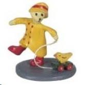 Dollhouse Miniature Toy Teddy Bear Statue