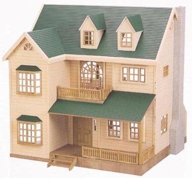 Epoch Sylvanian Families Sylvanian Family Green Hill House Ha 35 By