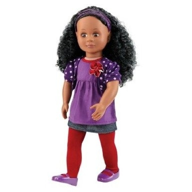 Our Generation Abrianna 46cm Non Poseable Doll