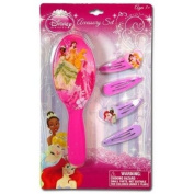 Disney Princess Hair Brush Accessory Set