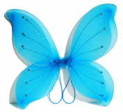 41cm x46cm Fairy Wings Butterfly Costume - Turquoise
