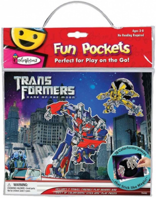 Fun Pockets, Transformers