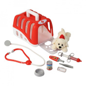 Theo Klein 4831 Vet kit with cuddly dog
