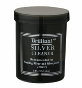 Brilliant® 240ml Silver Jewellery Cleaner with Cleaning Basket