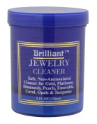Brilliant® 240ml Jewellery Cleaner with Cleaning Basket and Brush
