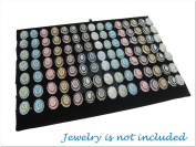 Multi-slot Ring Pad Insert for Counter Glass Top Display Case / Box / Organiser / Holder for Jewellery Retail Shop