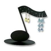 Music Note Earring Display Rack Earring Jewellery Display