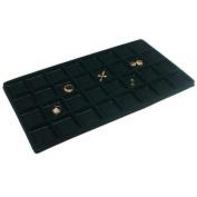 Black 32 Slot Coin Jewellery Showcase Display Tray Insert