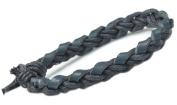 Fashion Dark Navy Blue Braided Bracelet- L020