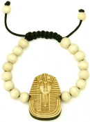 PHARAOH New Good Wood Goodwood Maple 10mm Bead Natural Wood Pendant Replica Bracelet Piece