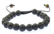 Lava Gemstone Bracelet Good for Healing and Energy- 91006