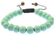 Turquoise Gemstone Bracelet - Good for Healing and Energy - 91025