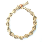 Hemp Bracelet Handmade with Natural Hemp - Spiral Twisted Style
