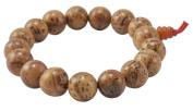 13mm Bodhi Seed Prayer Beads, Tibetan Wrist Mala, Tibetan Bracelet