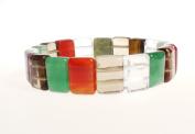 Bracelet - Multi Coloured Semi Precious Stones - Kiki's Radiant Stones