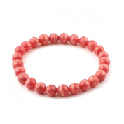 O-stone 2A Natural Rhodochrosite Bracelet Grounding Stone Protection 7mm