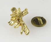 6030092 Christian Cross Lapel Pin Tie Tack Religious Church Jesus Christ Jewellery