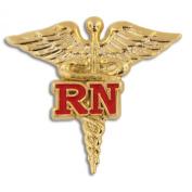 RN Caduceus Lapel Pin