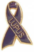 Lupus Ribbon Lapel Pin