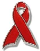 AIDS Awareness Pin