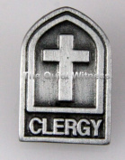 6030159 Clergy Lapel Pin Minister Pastor Priest Tie Tack