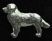 Pewter Bernese Mountain Dog Pin