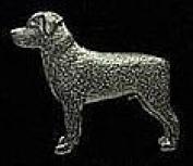 Pewter Rottweiler Pin