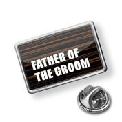 "Pin ""Father of the Groom Wedding"" - Lapel Badge - NEONBLOND"