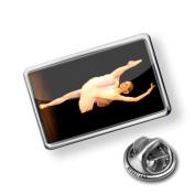 "Pin ""Ballet dancer"" - Lapel Badge - NEONBLOND"