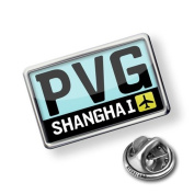"Pin ""Airport code ""PVG / Shanghai"", country"