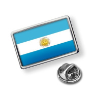 "Pin ""Argentina Flag"" - Lapel Badge - NEONBLOND"