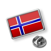 "Pin ""Norway Flag"" - Lapel Badge - NEONBLOND"