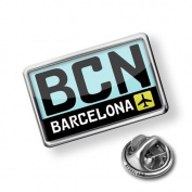"Pin ""Airport code ""BCN / Barcelona"" country"
