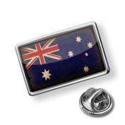"Pin ""AustraliaFlag with a vintage look"" - Lapel Badge - NEONBLOND"