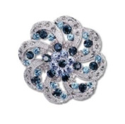 Annaleece Parasol Brooch Made with. Elements
