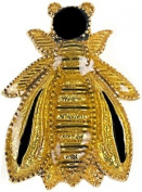Napoléone's Bee Brooch, Enamelled