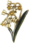Faberge Lily-of-the-valley Brooch