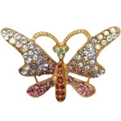 Jay Strongwater Butterfly Pin Sharona