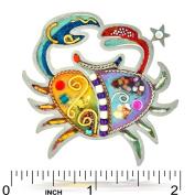 Sensitive Cancer the Crab Zodiac Pin from the Artazia Collection #904 MP