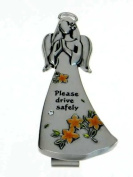 Angels Among Us Visor Clip - Please Drive Safely