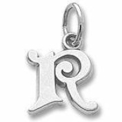 Rembrandt Charms R Initial Charm