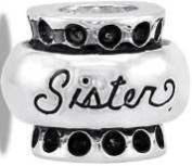 Davinci Sister Silver Bead