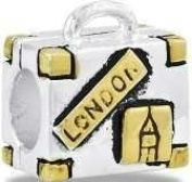 DaVinci Suitcase Two Toned Bead