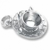 Rembrandt Charms Cup and Saucer Charm