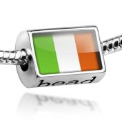 "Beads ""Ireland Flag"" - Pandora Charm & Bracelet Compatible"