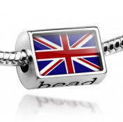 """Beads """"Britain Flag"""" - Pandora Charm & Bracelet Compatible"""