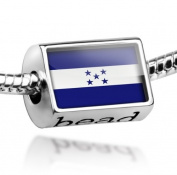 "Beads ""Honduras Flag"" - Pandora Charm & Bracelet Compatible"
