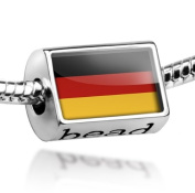 "Beads ""Germany Flag"" - Pandora Charm & Bracelet Compatible"